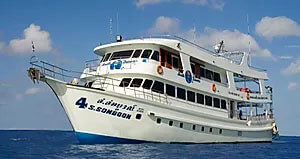 Diving Similan Islands from Phuket